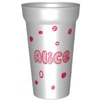 Gobelet en plastique rigidepersonnalisé de 25cl utile . Personnalisable a partir d'1 gobelet ! - gobelet eco