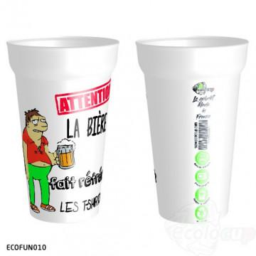 "Gobelet "" Bière T-shirt """