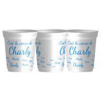 Voici legobelet à café réutilisable, avec la personnalisation du prénom. Personnalisable à partir d'un gobelet ! - ecol