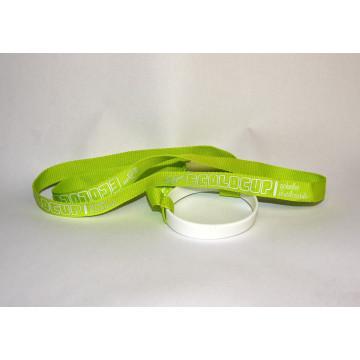 Pack de 10 portes gobelets vert et blanc