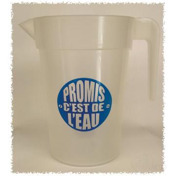 Pichet promis c'est de l'eau