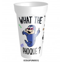 What the PHOQUE !!!! Un gobelet drole et pratique - gobelet ecolo