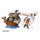 Gobelet personnalisé pirateavec le prénom de votre choix. Personnalisable à partir d'1 gobelet ! - gobelet réutilisabl