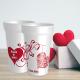 Superbe cup réutilisable, personnalisé avec prénoms et date pour mariage