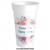 GOBELET BONNE FÊTE MAMIE