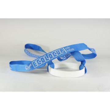 Pack de 10 portes gobelets bleu et blanc