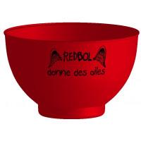 Le REDBOL est un bol en plastique incassable, qui passe au lave vaisselle et au micro-ondes, sans BPA et 100% made in france